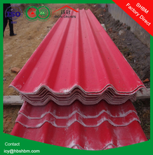 high strength Magnesium oxide anti-corrosion insulation roof sheet better than clay spanish roof tile