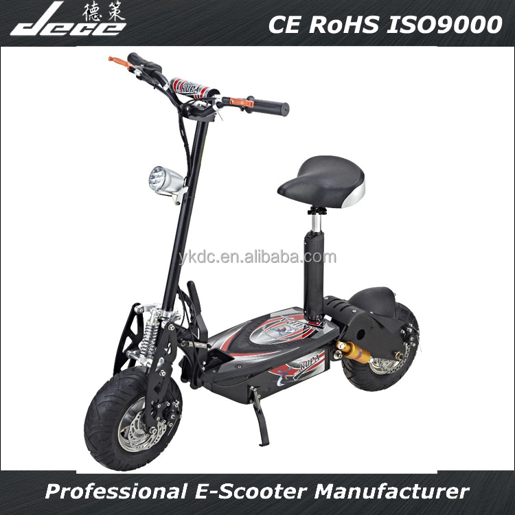 Two wheel 2000w motor electric scooter with single seat golf cart