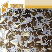 Colored Decorative Stainless Steel Custom Metal Sheet In China
