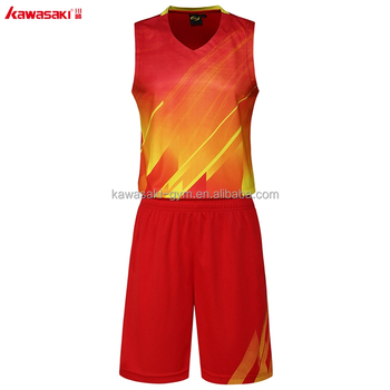 Factory Supplier Custom Sublimation Printed Basketball Jersey Man Uniform Wear
