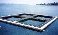 100% recyclable floating cages