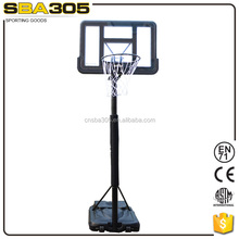 CE certificated portable basketball stand