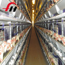 Hot selling steel structure broiler chicken cage/chicken farm building