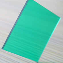 colorful excellent light transmitting pc transparent roofing sheet plastics panel solid flat polycarbonate
