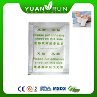 expelling of toxin gold relax foot patch