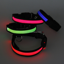 pet led blinker led flashing dog collar for retail