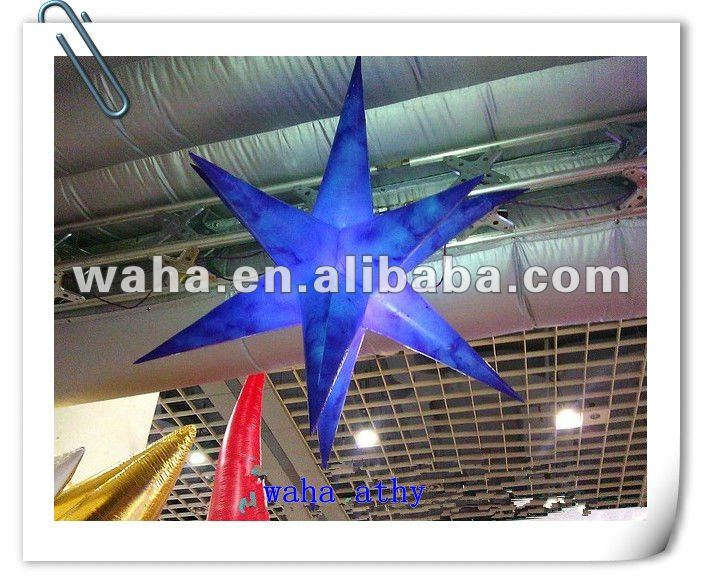 2012 inflatable stars for party/stage/christmas decoration