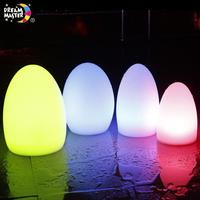 Powered Solar LED Valentine Decoration Ball Light Outdoor