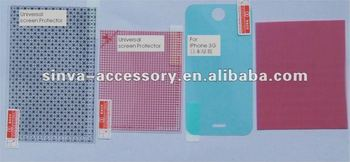 Universal Screen Protector material from shenzhen factory supply with best price