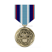 Customized color filling enamel metal medals