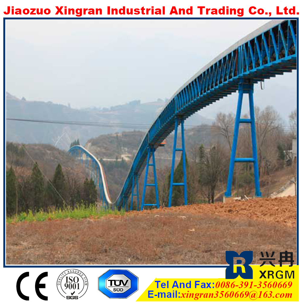 conveyor system used for grit minal material handling equipments belt conveyor lifter conveyor