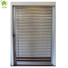 Vertical electric clear shop polycarbonate transparent roller shutter door