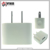 Simple 5V 3A 2 port dual usb wall charger EU/ US plug for samsung Iphone charger