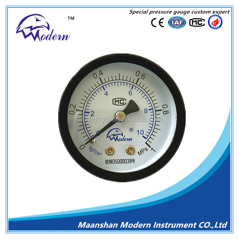 "2"" High quality Pressure Gauge (0-1.0)MPa"