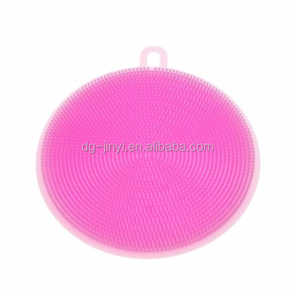 Top selling in Amazon silicone dish scrubber sponge scrubber dish washing scrubber