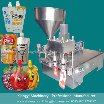 capsule counting filling machine / honey stick stand up pouch filling machine