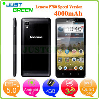 New Lenovo P780 android 3g mobile phone 5 inch MTK6589 Quad Cores 1GB 8GB Android 4.2 android phone