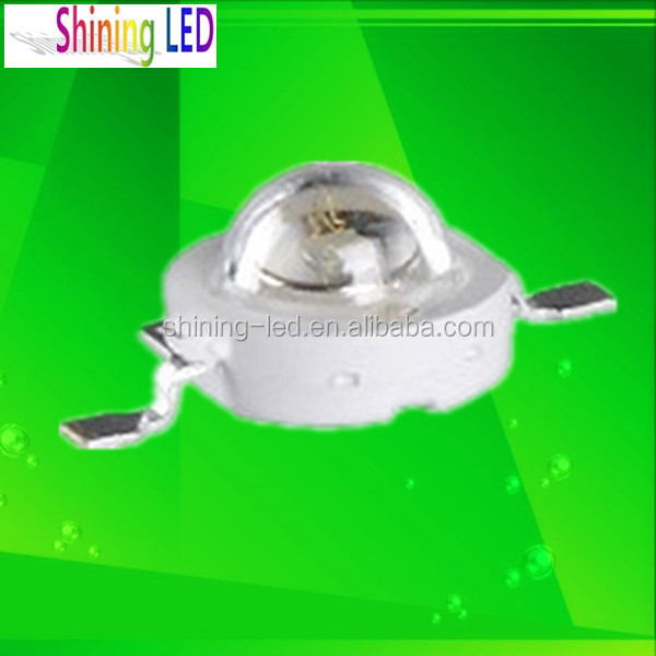 3.0-3.6V 350mA Ultraviolet Epileds Chip 1W 365nm UV LED Diode for Curing, sterilization, fishing lights