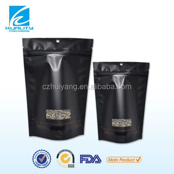 Composite stand up plastic special bag tea bag packing