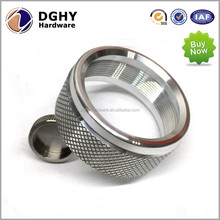CNC Machining Aluminum/Brass,Stainless Steel Knurled Ring