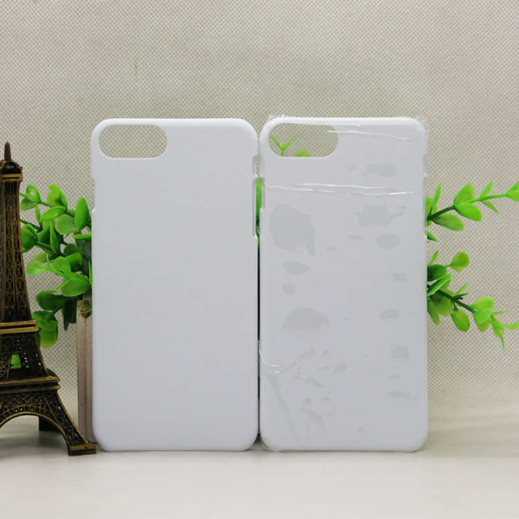 3D sublimation film phone case for Iphone/ Dye sublimation customized blank case/ Cheap clear case