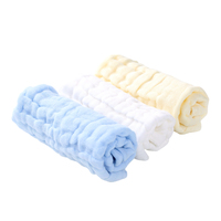 Baby Muslin Washcloths Natural Muslin Cotton Wipes 100% Cotton Baby Face Towel