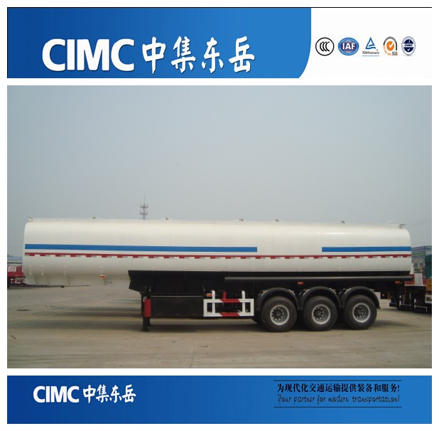 New Price 3 Axle 45000 Liters Oil Tanker Ship, Fuel Tanker Trailer for Middle East