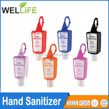 1oz 2oz 3oz Scent Colorful Hand Sanitizer, silicon sanitizer bottle holder