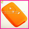 Best sale high quality silicone car key hole cover wholesale remote silicone key cover for for toyota smart key cover
