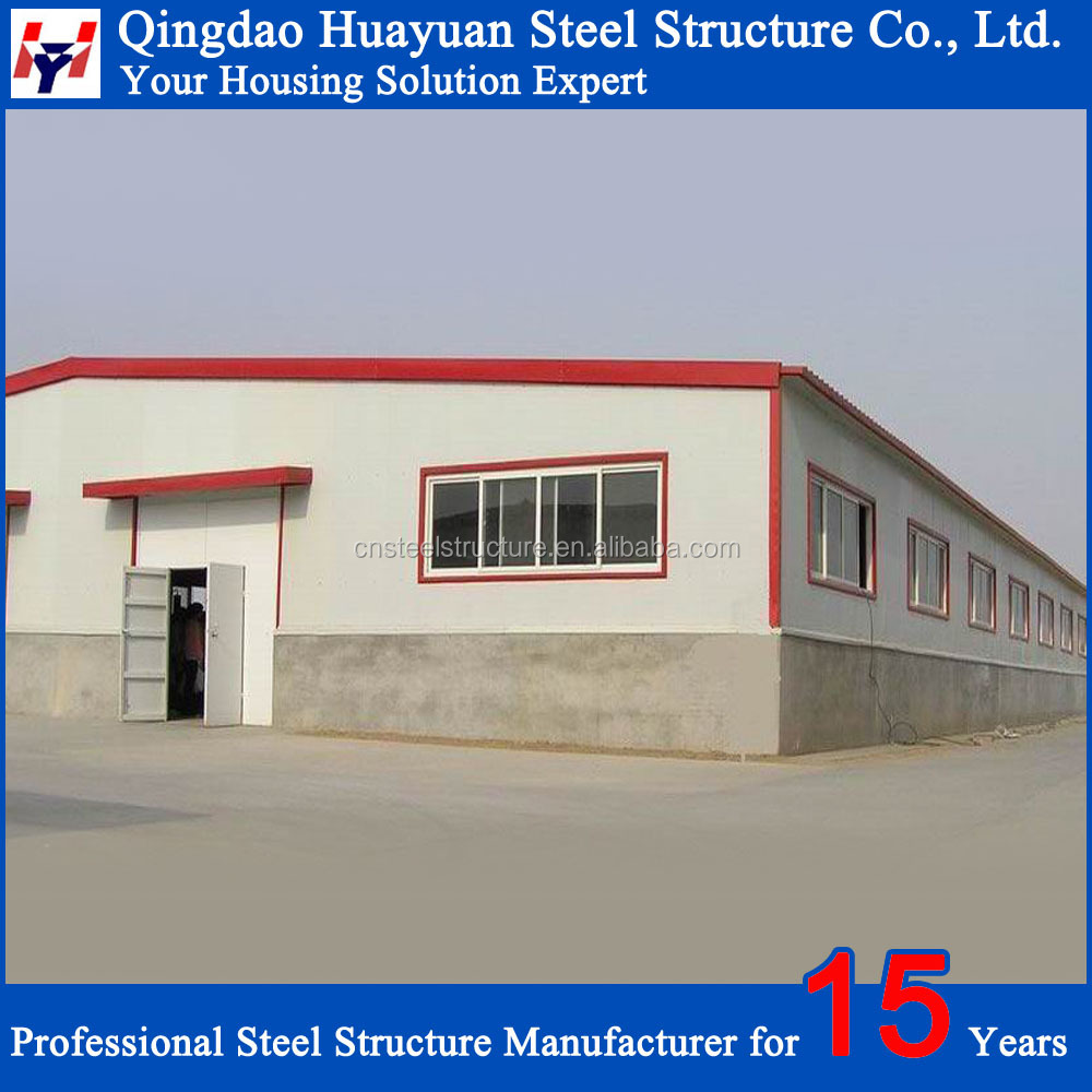 Chinese prefab light structural steel warehouse for sale