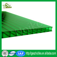 virgin Sabic raw material UV protect multiwall pc plastic polycarbonate hollow sheet
