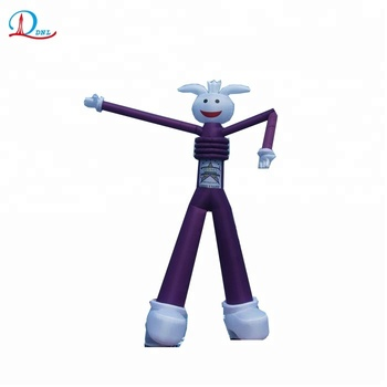 5m high two legs inflatable sky dancer