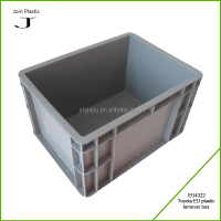 Eco-friendly large rectangular plastic crate for sale
