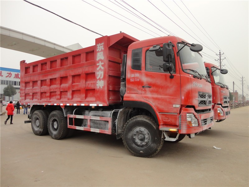 High quality low price dongfeng 6*4 18 cubic meter dump truck