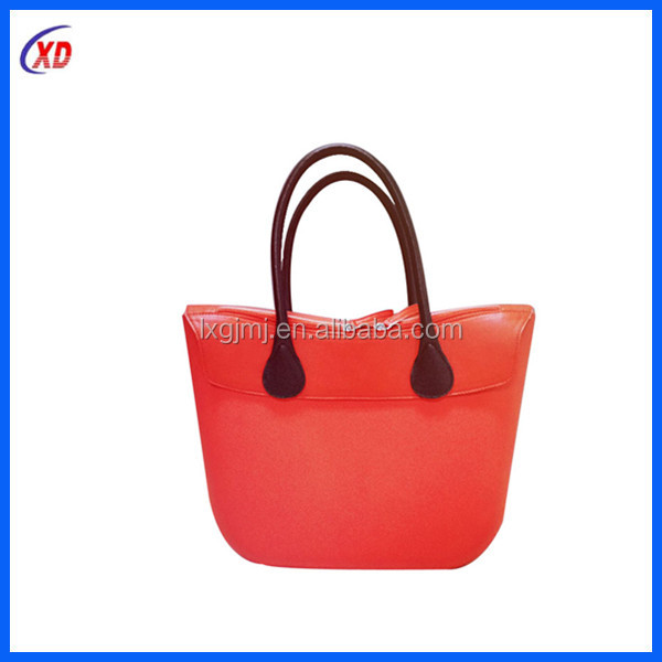 Promotion cheap novelty custom silicone shoulder bags for woman