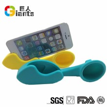 silicone speaker for samsung galaxy s4/portable silicone megaphone