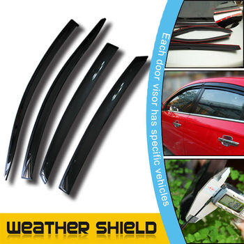 4 Door Wind Deflector Windows Visor Rain Guard For Chevrolet Captiva 10+