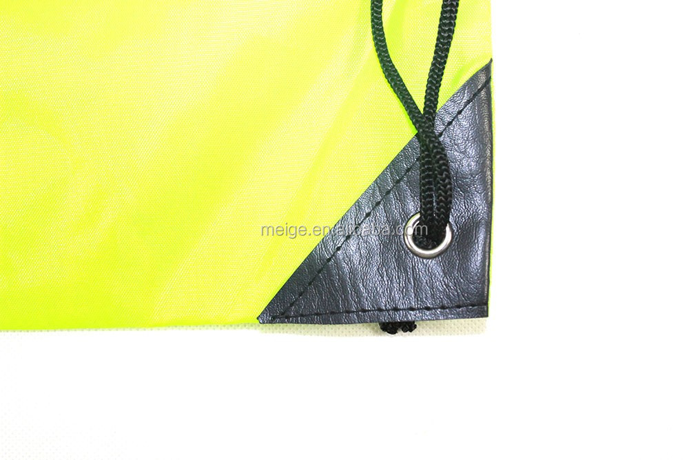 Custom Printing polyester fabric cheap drawstring bag