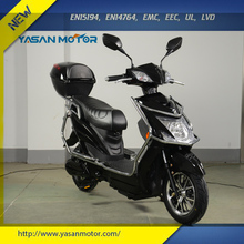 EEC Approved 500W 60V Two Wheel Electrical Scooter with 150kgs Max.Loading