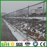 America Standard Used chain link Temporary Fencing for construction