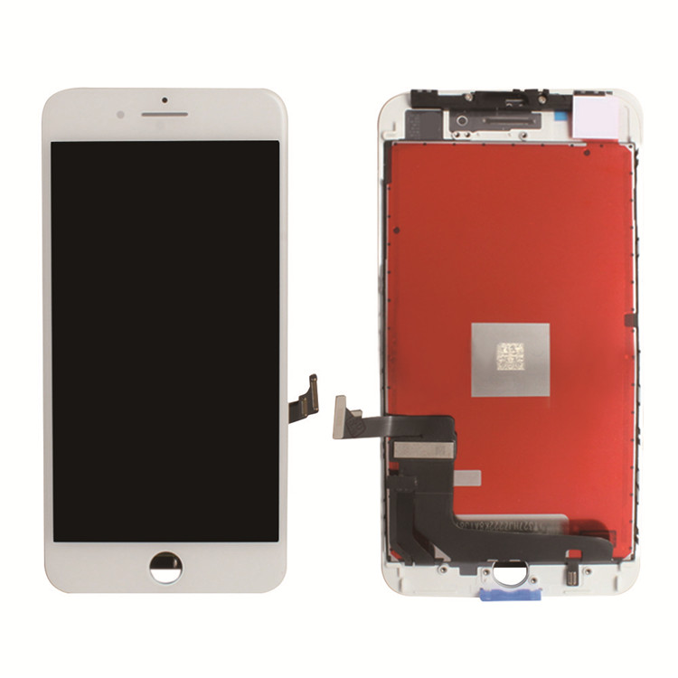 NEW For iPhone 8 Plus Retina LCD Digitiser Touch Screen Full Assembly <strong>w</strong>/Parts WHITE