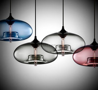 hotsale Modern hand blown glass pendent lamps