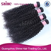 100% unprocessed raw wholesale virgin indian deep curly human hair
