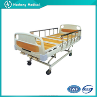 KSY3-01 short-time manual ABS/steel medical bed three crank cheap hospital bed