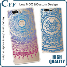 For Huawei P8 Lite 2017 Case Totem Case Tranparent Slim Fit Henna Floral Pattern Hard PC Protective Case for Huawei P9 Lite 2017
