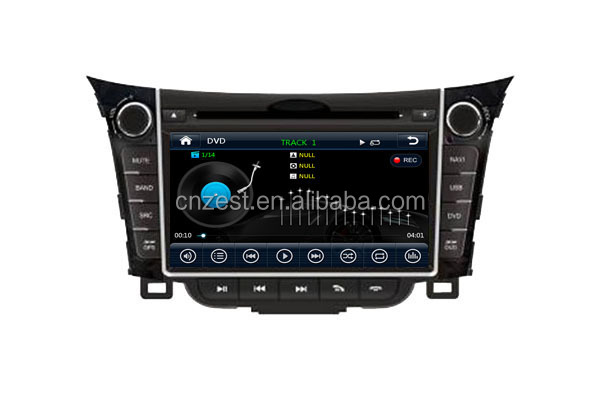 fit for hyundai i30 car dvd gps navigation system with car audio