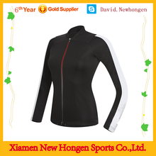Fashionable sublimated customized long sleeve cycling jersey