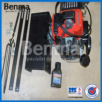 Rear Friction engine for bicycle, Rear bike engine kit