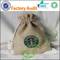 promotion eco-friendly small jute bag