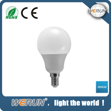 Energy saving high bright CE RoHS ISO approved e14 led light bulb